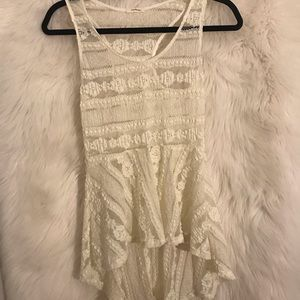Womens ivory top small